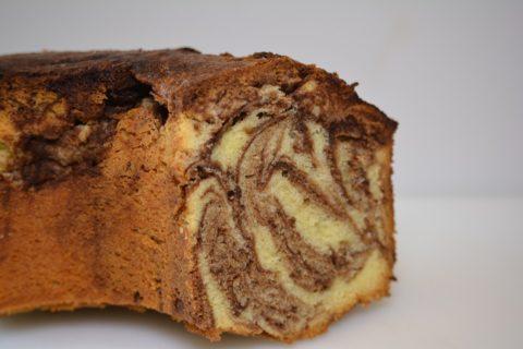 Gâteau marbré au moca : une recette simple et rapide